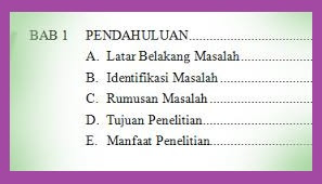 CARA MEMBUAT SKRIPSI STEP BY STEP BAB 1