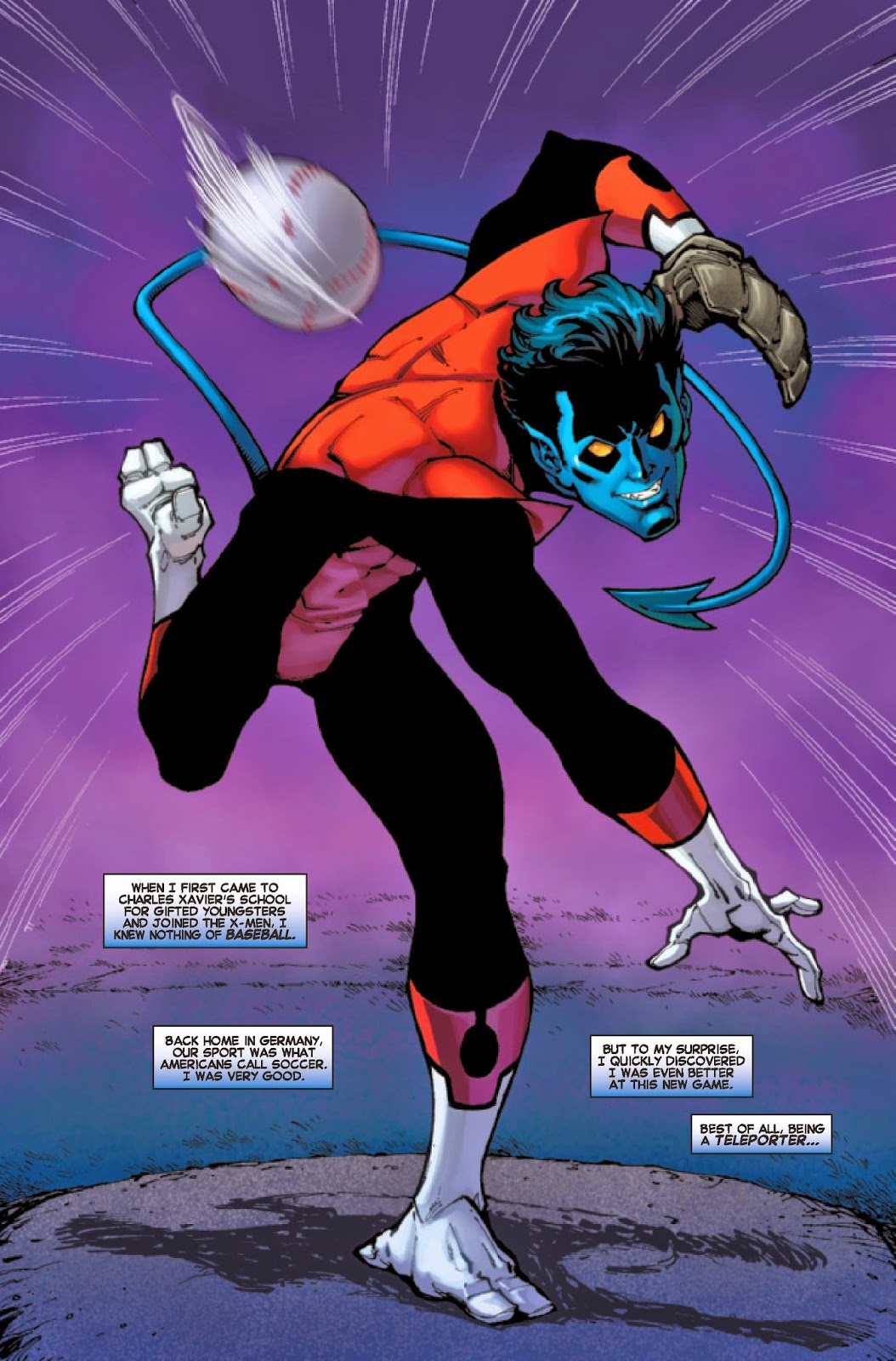 nightcrawler batter up 5