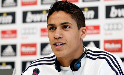 Varane press conference after Real Madrid training