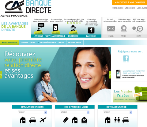 Banque Directe Crédit Agricole Alpes Provence