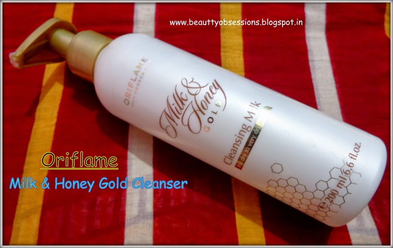 Oriflame Milk and Honey Gold Cleanser Review