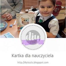 ZROBIONE Z DZIEĆMI - kartka dla nauczyciela