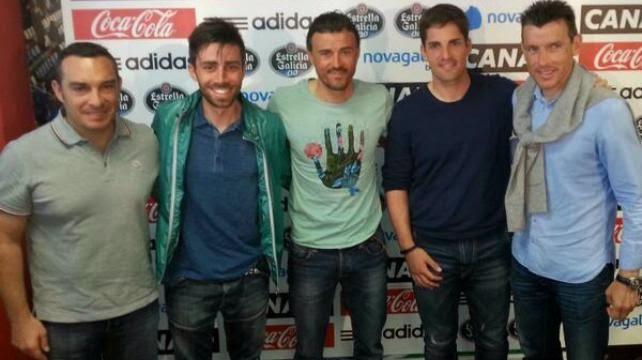 صورة جماعية مع اعضاء سيلتافيغو