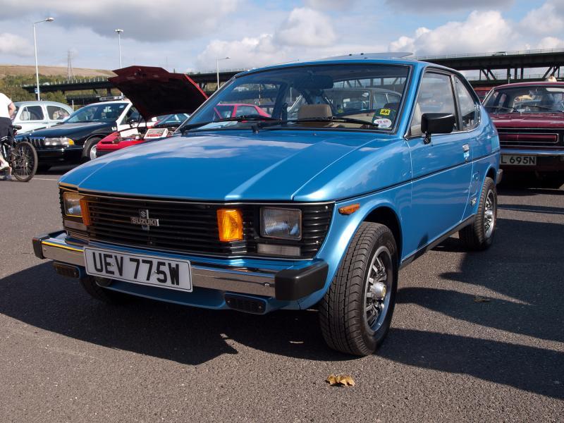Suzuki SC100, Whizzkid, samochody z silnikiem umieszczonym z tyłu, auta z silnikiem R3