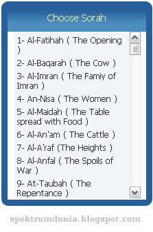 Al Quran online streaming via Quran for all, belajar mengaji online dengan baik - terbaru5.blogspot.com