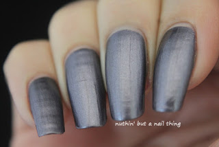Models Own Liquid Metal Effect Grey