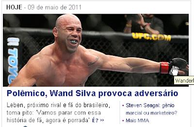 Wand Silva provoca fã