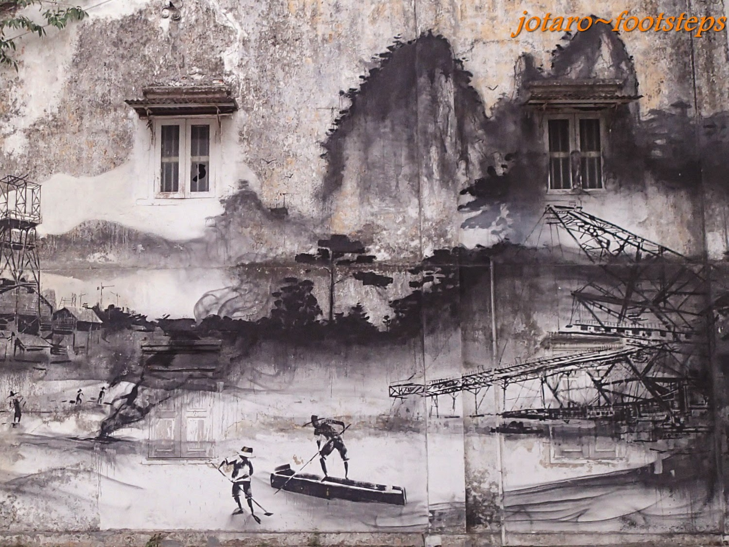 Footsteps jotaro 39 s travels gallery street art of ipoh for 7 mural ipoh