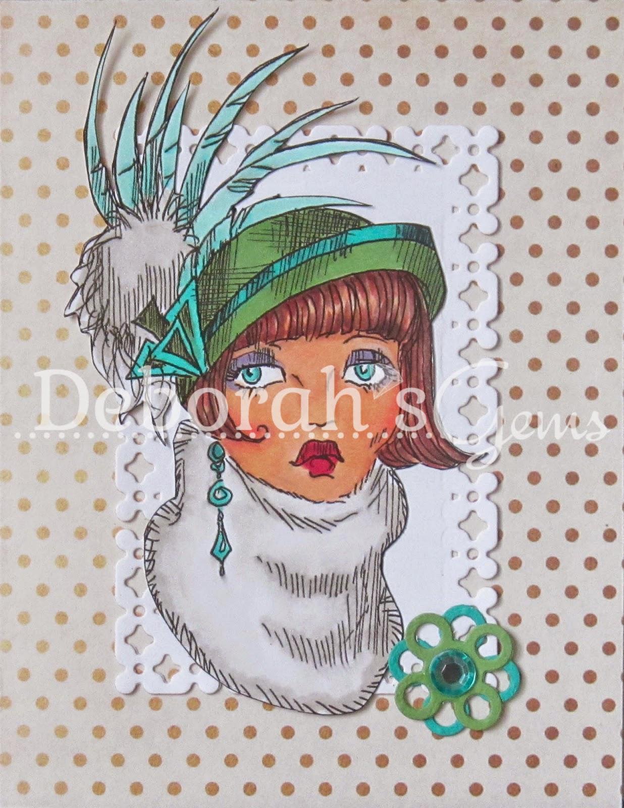Billie Hat Lady - photo by Deborah Frings - Deborah's Gems