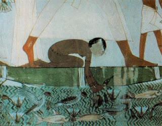 La jove banyista (Antic Egipte)
