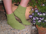 Groovy Green Socks!
