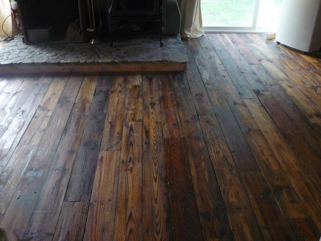 has anyone put down oiled wood floors?
