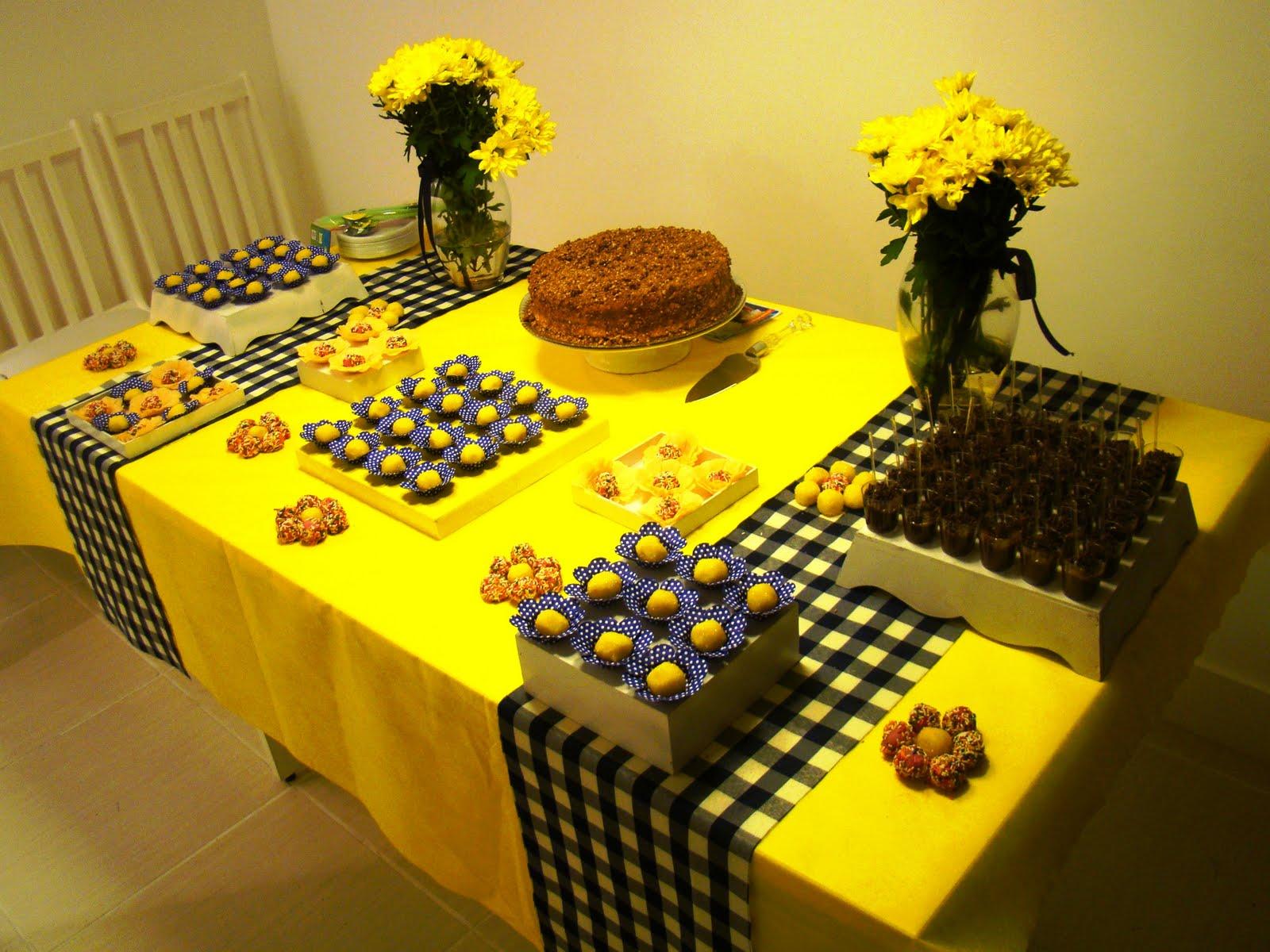 decoracao festa infantil azul e amarelo:Fusca Rosa: Decoração de Festa – Azul marinho e amarelo