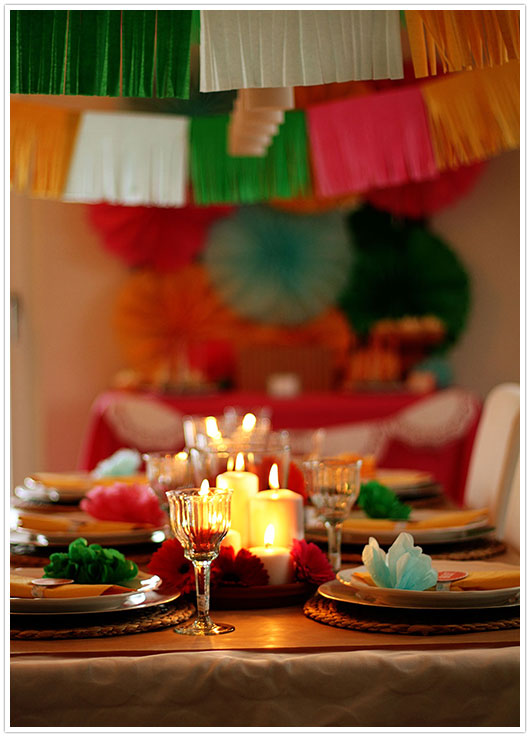 Mexican Fiesta Dinner Table