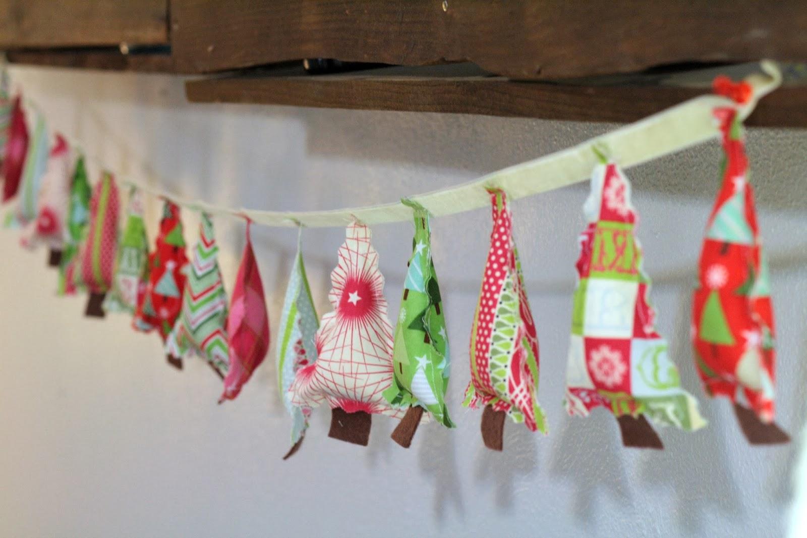 Handmade christmas tree ornaments ideas - Christmas Tree Garland