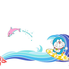 wallpaper doraemon, giant, suneo, nobita, sizuka