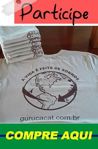 Camiseta do Guruçá Cat