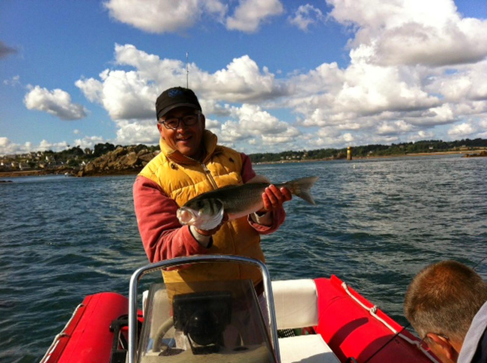 Labrax, pêche en mer