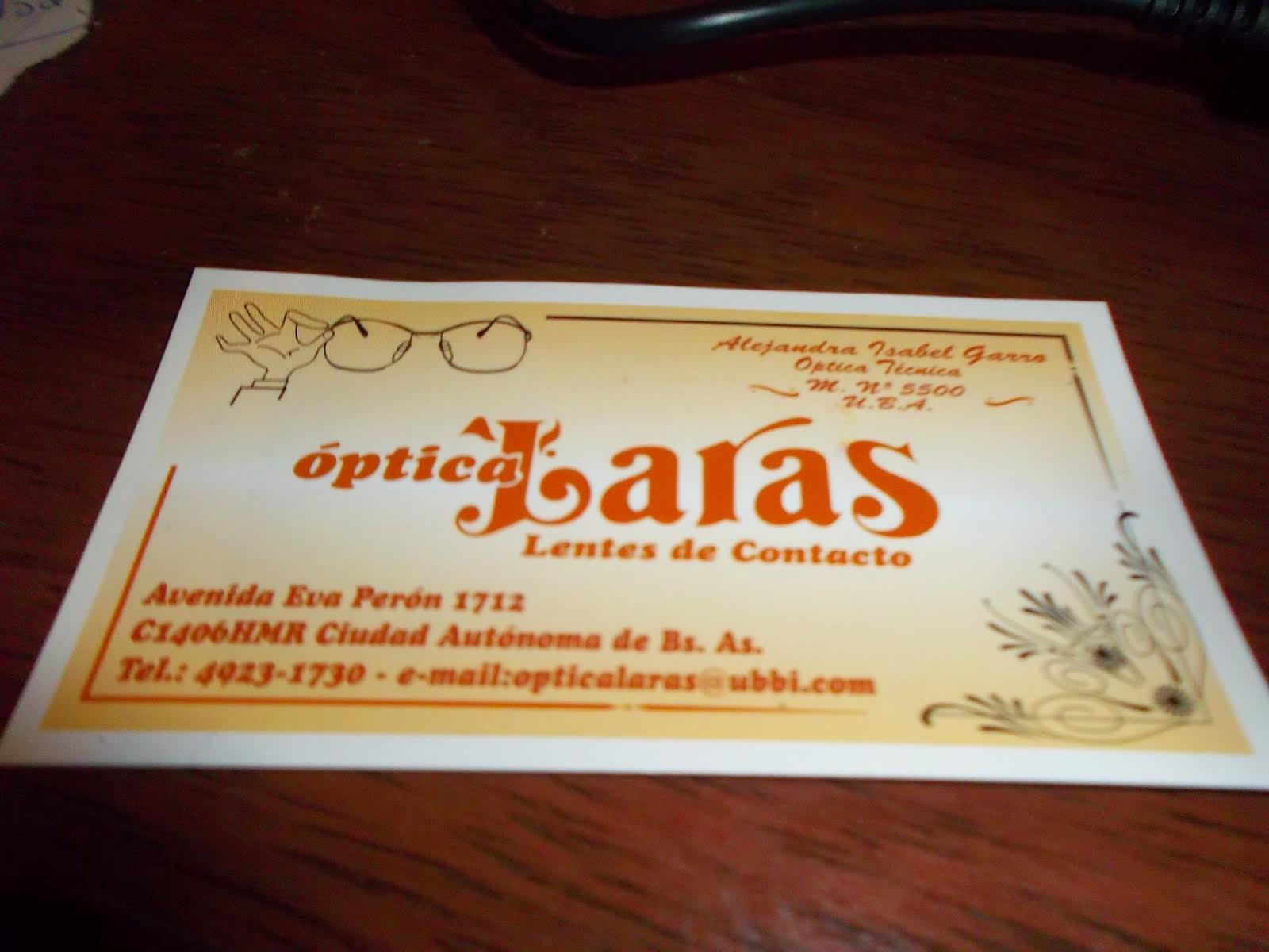 ÓPTICA LARA'S