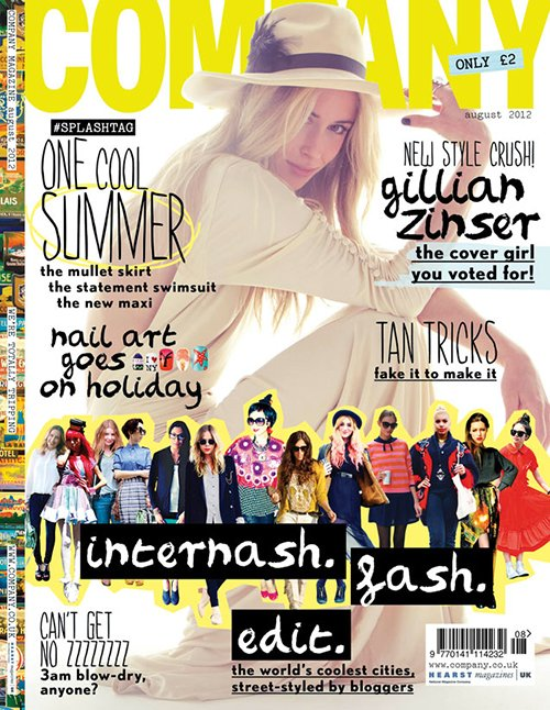 Gillian Zinser Covers Company August 2012 » Gossip | Gillian Zinser