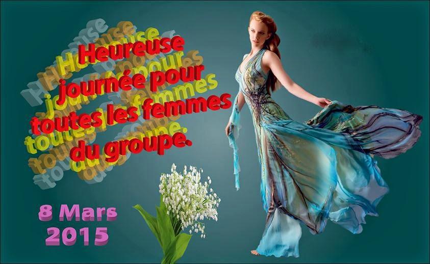 poème bonne fète A toutes les femmes á l'occasion du 8 MARS