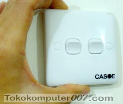 ... berbentuk pengesan asap (Smoke Detector Hidden Camera With DVR