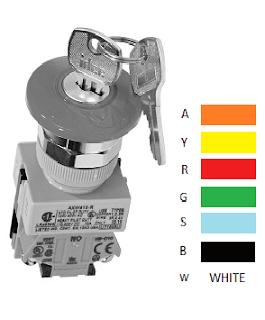 Nút dừng khẩn AXW411R