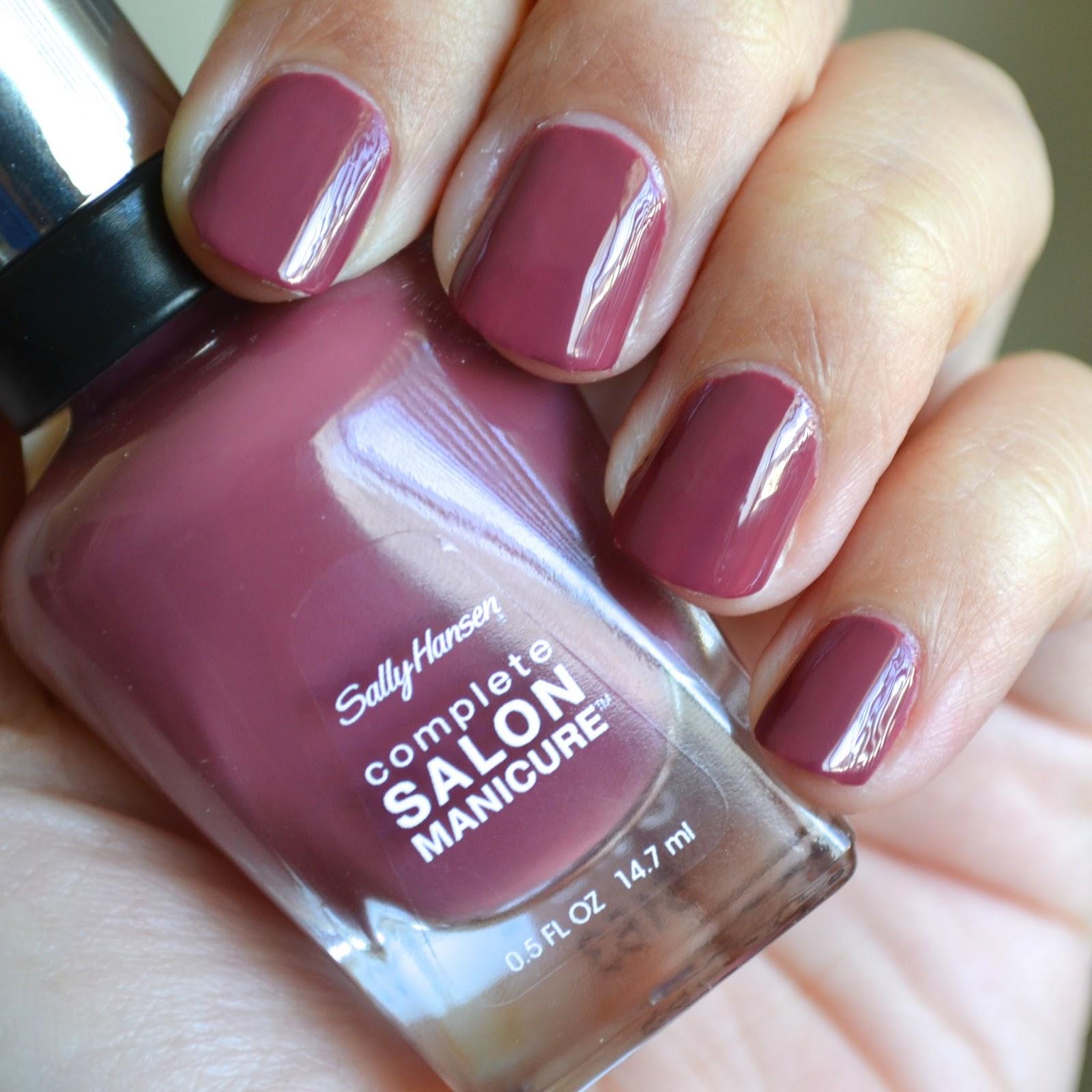 Aquaheart sally hansen fall 2015 designer inspired shades for Salon manicure