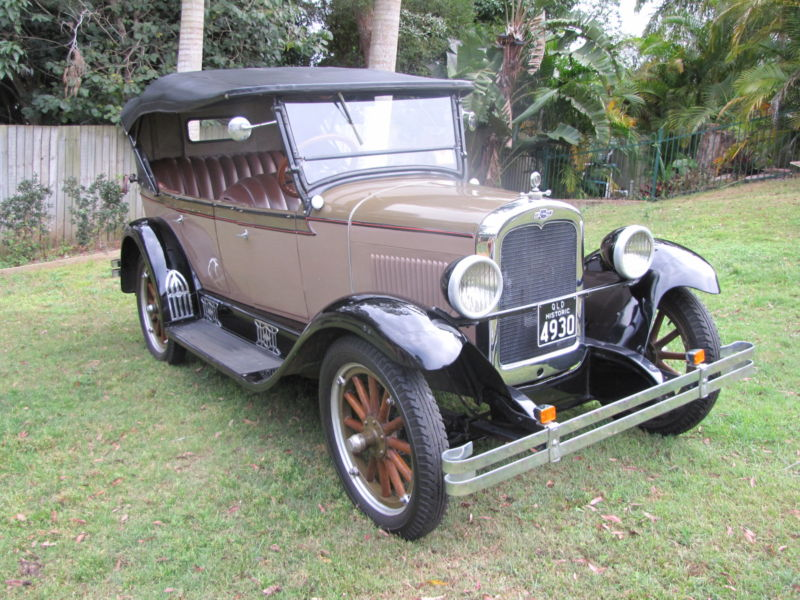 My 1928 Chevrolet: Great Looking 1927 Chev Tourer