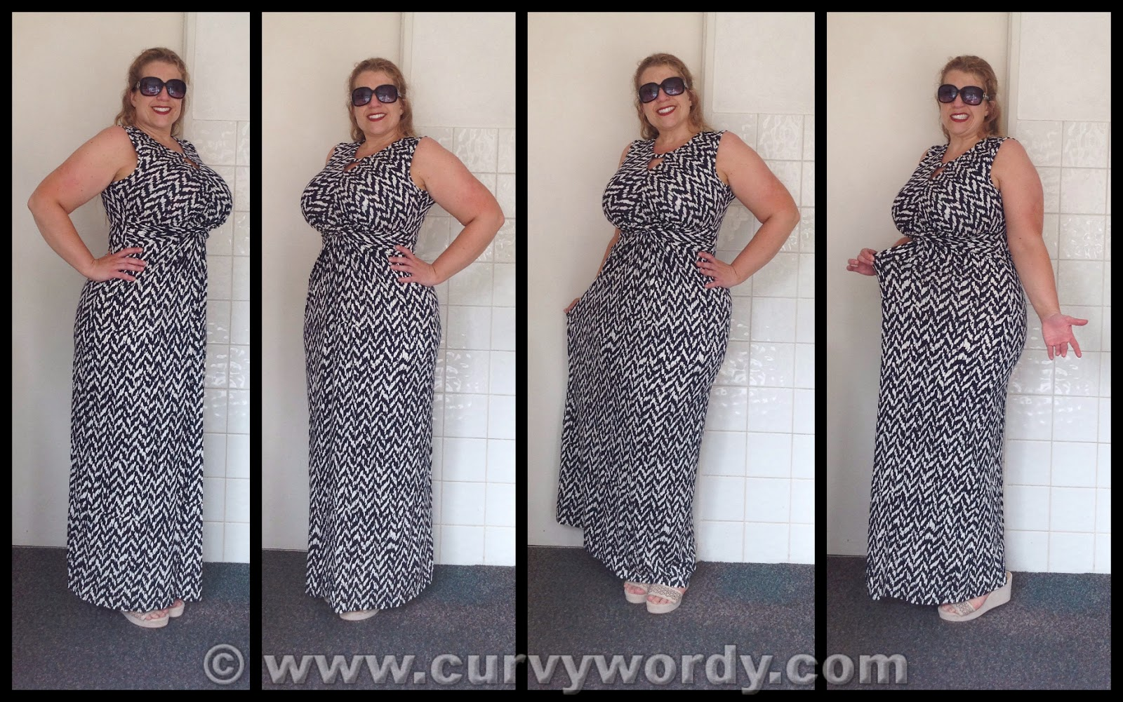 Maxi dress fuller figure