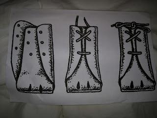 aussie lace-up dog shoes