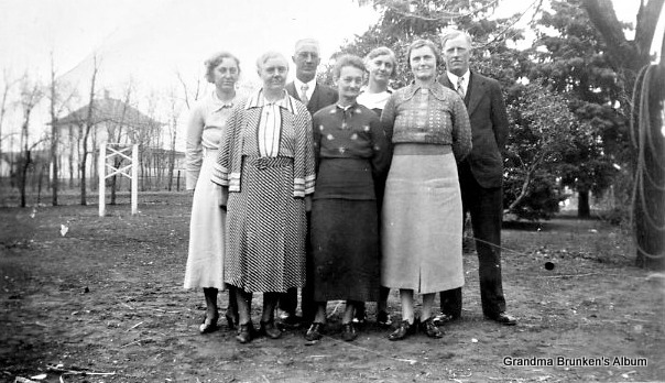 Carsten Petersen, Sr.'s Children - Circa 1930