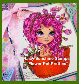 Flower Pot Pretties Only At Lacy Sunshine Stamps