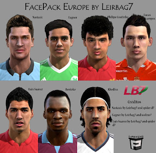 PES 2013 FacePack Europe by Leirbag7
