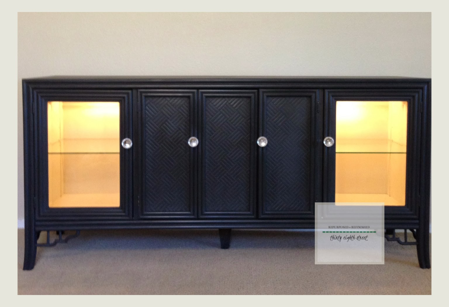 Painting furniture before and after - Before And After White Painted Dresser Set Lesson Learned