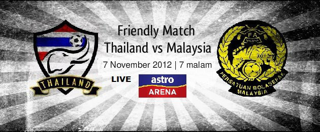 Live Streaming Thailand vs Malaysia 7 November 2012
