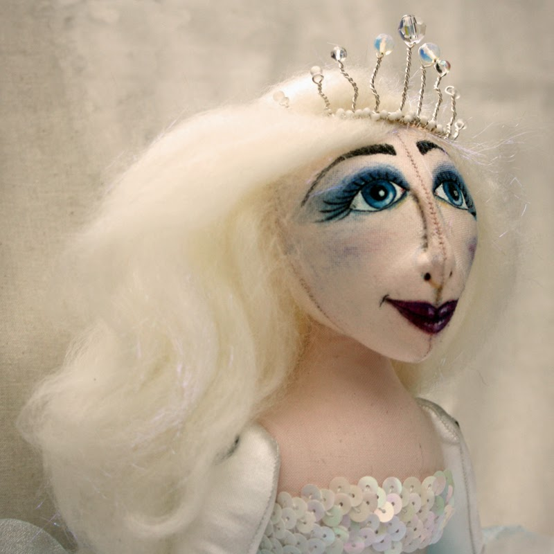 ice queen art doll