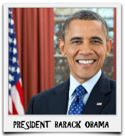 BARACK OBAMA - CLICK PHOTO TO VIEW THIS BULLETIN