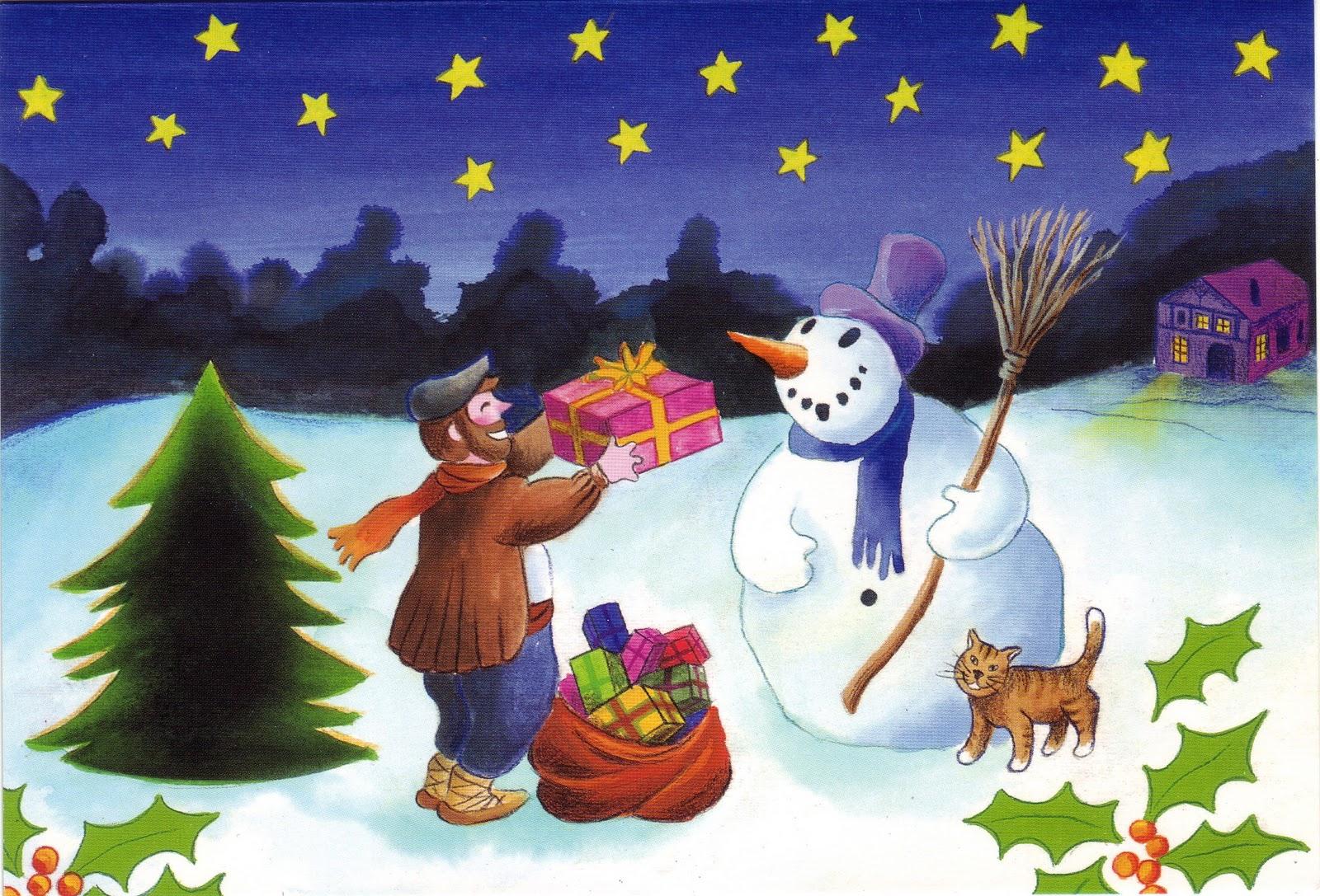 Ba l de navidad olentzero postales - Postales de navidad con fotos de ninos ...