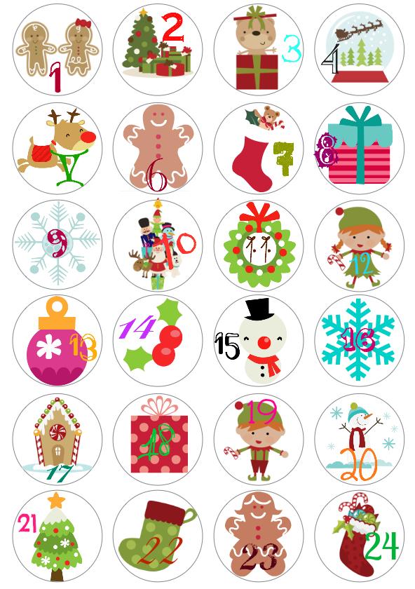 Pitis and lilus tipos de letra tipograf a navide as y - Calendarios navidenos personalizados ...