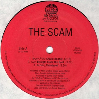 Various ‎– The Scam (1992, EP, 192)
