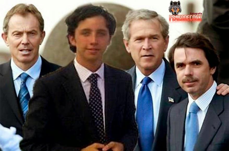 Nicolas con presidente EEUU e Inglaterra