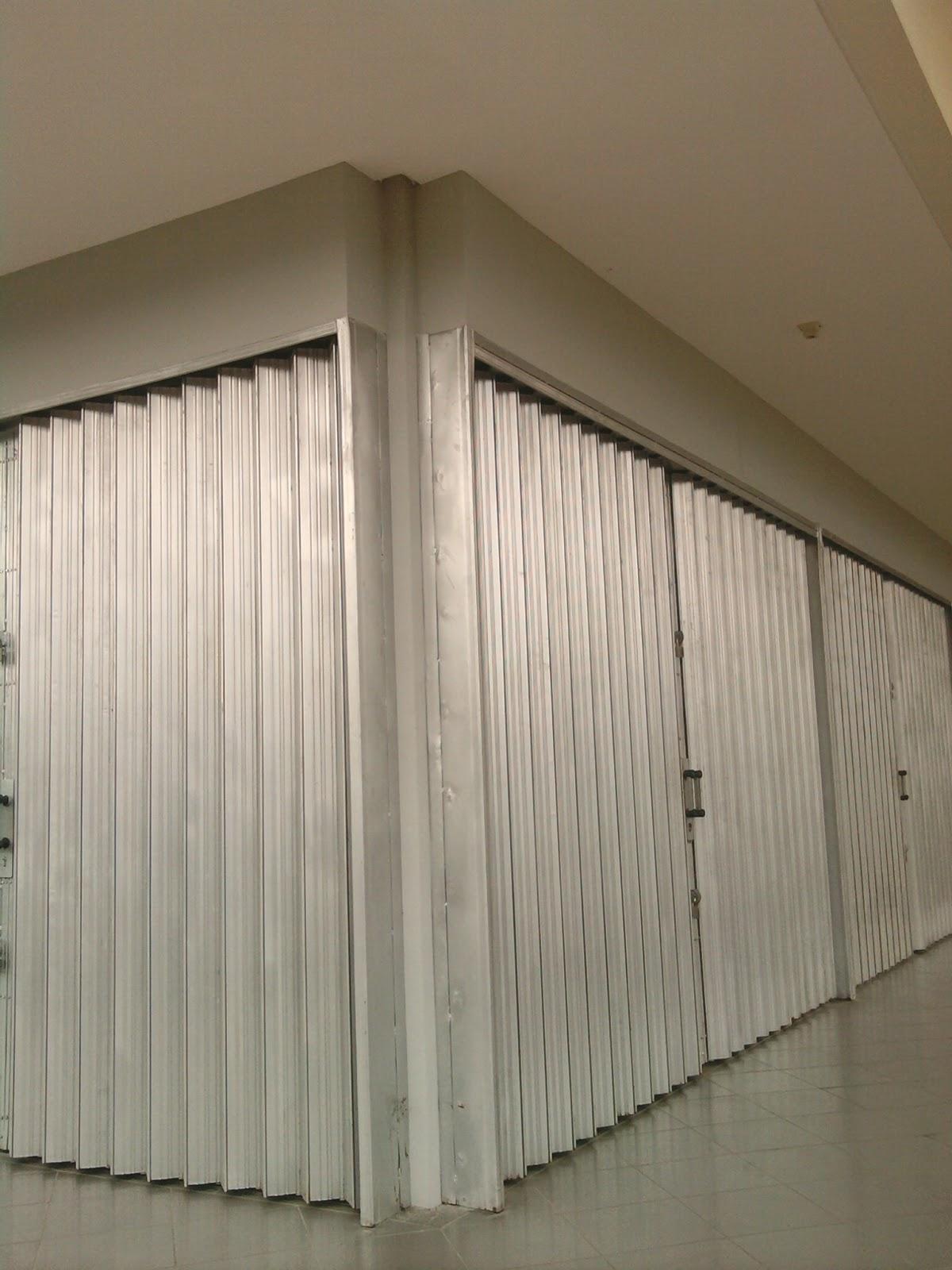 folding gate galvanis serang