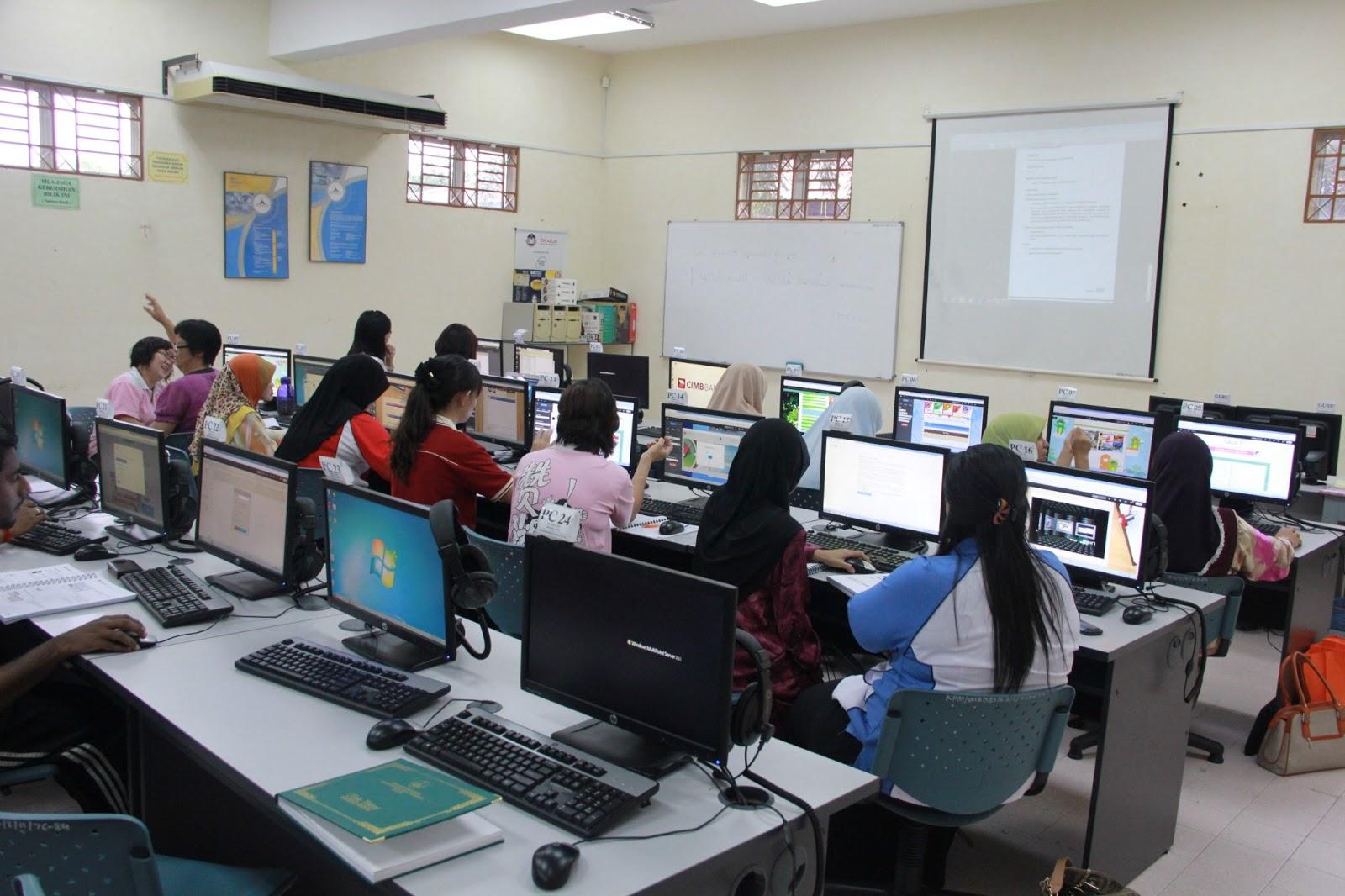 latihan Program Virtual Learning Enviroment (FROG VLE) bagi guru-guru