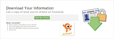download your information in facebook