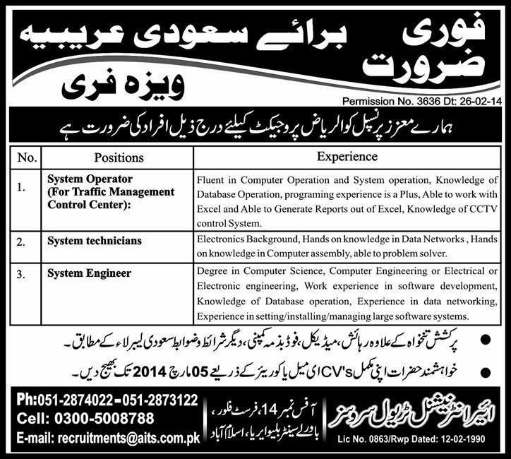 FIND JOBS IN PAKISTAN SYSTEM ENGINEER JOBS IN PAKISTAN LATEST JOBS IN PAKISTAN