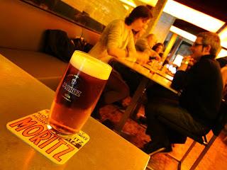 Moritz brewery in Barcelona