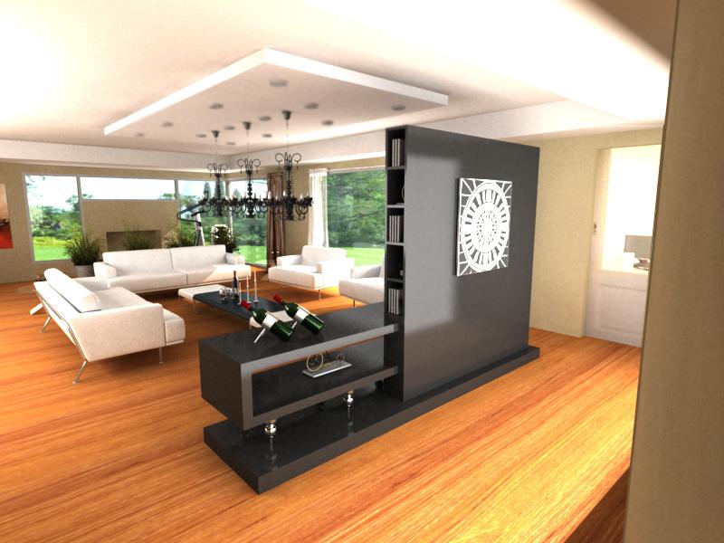Grafica 3d Living En Kcc
