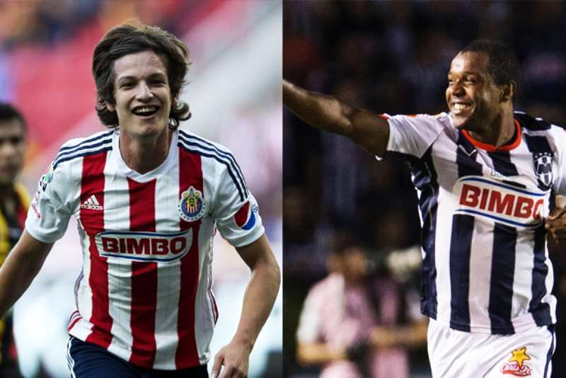 Carlos Fierro y Dorlan Pabon los delanteros que destacan por Chivas y Rayados.