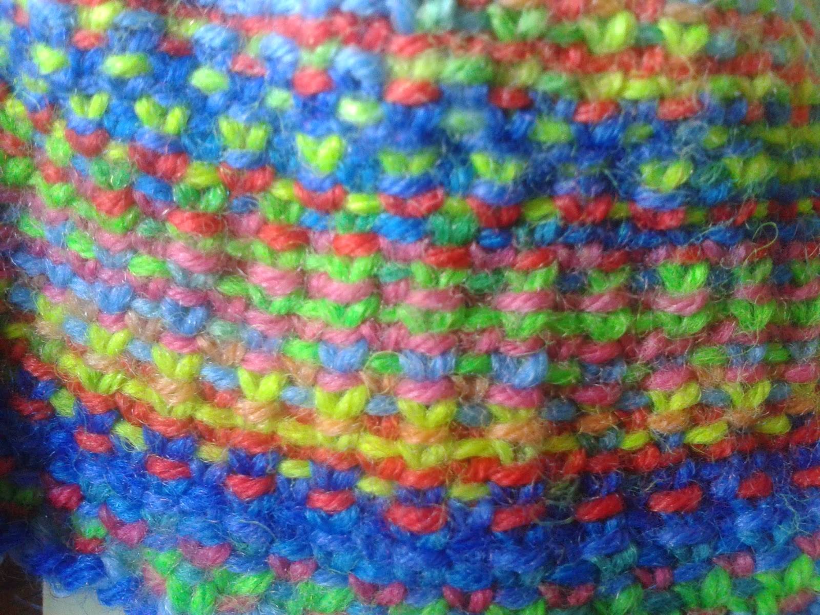 Knitting Linen Stitch On Circular Needles : funkycrochet: Oh for the love of knitting! A little progress on the Linen Sti...